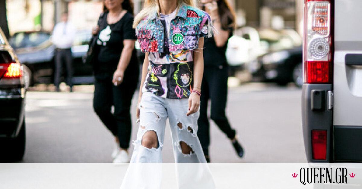 Queen SOS: Πώς να φορέσω τα φαρδιά jeans την άνοιξη;