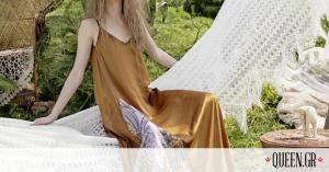 Mία bohemian luxurious συλλογή ρούχων που θα ντύσει με τον πιο ονειρικό τρόπο το καλοκαίρι σου
