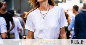 H επιστήμη του λευκού t-shirt: Oλοκαίνουριοι τρόποι για να το φορέσεις