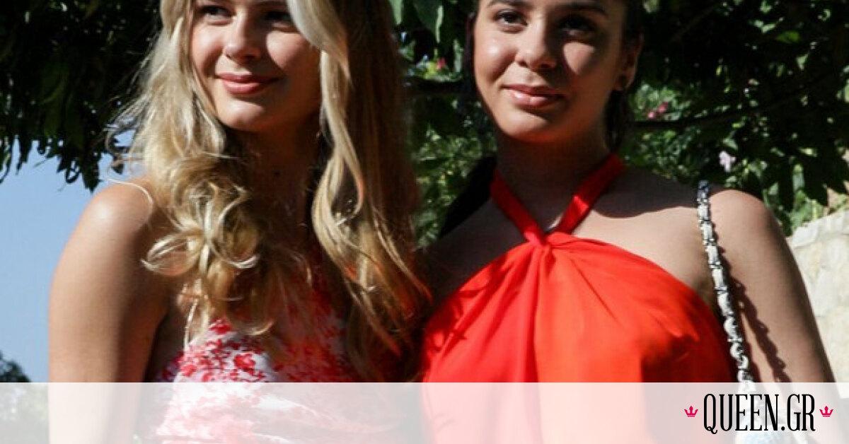 Αμαλία και Αλεξάνδρα Κωστοπούλου: Βρήκαμε τα φορέματα που έβαλαν στον γάμο της μαμάς τους