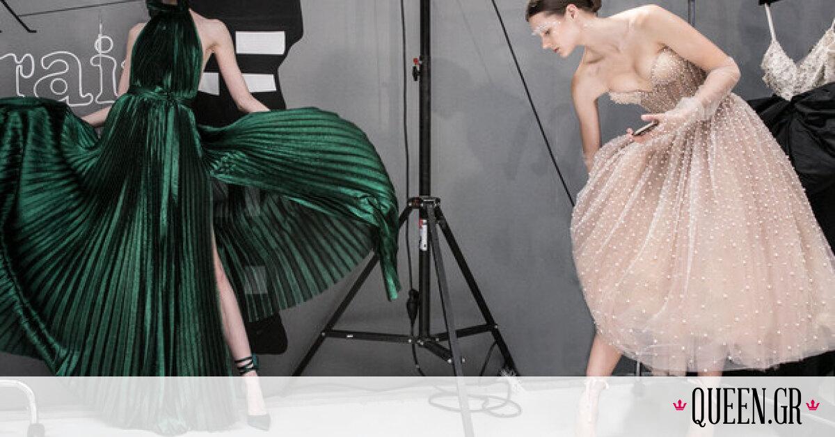 Tsakiris Mallas x Celia Kritharioti: Ένα ονειρικό show Υψηλής Ραπτικής στο Παρίσι